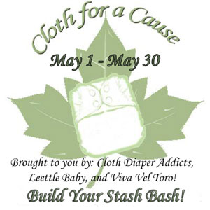 Cloth for a Cause Built Your Stash Bash (and Diaper Drive)